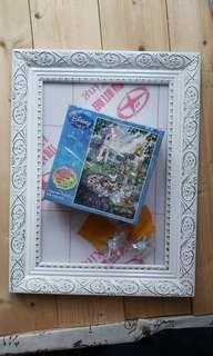 日本購買Disney Mikey Minnie 結婚砌圖 108塊連畫框