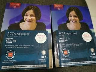 🚚 ACCA F6 UK Tax both study text and revision kit books