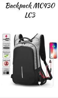 Anti-Theft Unisex Backpack