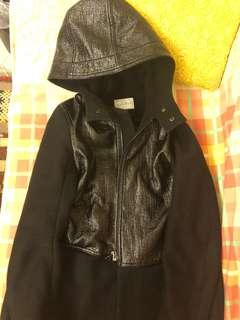 Sandro Black Coat
