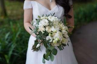 BRIDAL PARTY / BRIDAL BOUQUETS / BOUTONNIERE / CORSAGES / BRIDESMAID POSY / FLOWERGIRL POSY