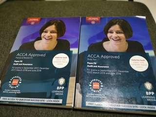 🚚 ACCA F8 Audit Study text and revision kit books