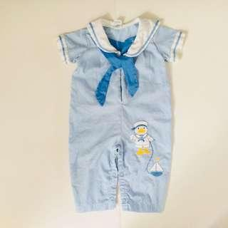 🔛 SALE! CARTER'S BABY SAILOR ROMPER