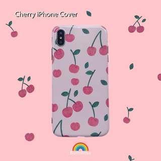 🚚 Cherry iPhone Cover