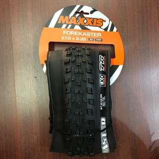 New: Maxxis Forekaster 27.5x2.35 MTB Tyre - Tubeless ready- EXO