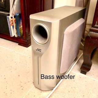 JVC Audio Sub woofer