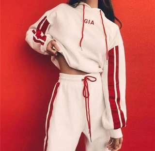 I am gia inspired hoodie set
