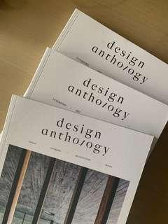 Design Anthology Issue 7, 8 & 10 (Bundle)
