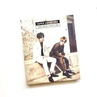 wts super junior d&e the beat goes on unsealed album