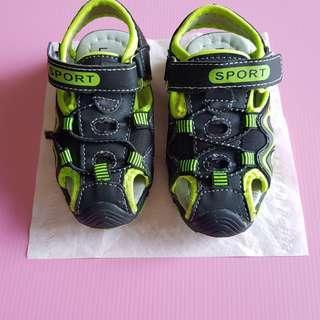 Lion Master Boys' shoes, size: 24, black/lime green