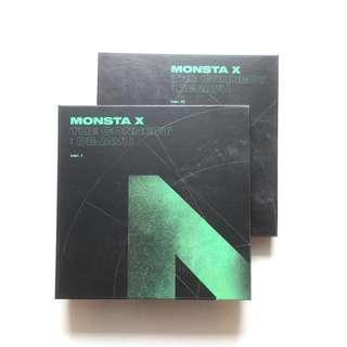 wts monsta x the connect unsealed album