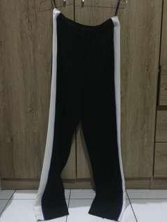 celana kerja strip putih