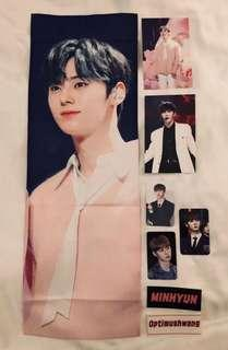 Nu'est Hwang Minhyun slogan by @LearntoLove_mh [PINK]