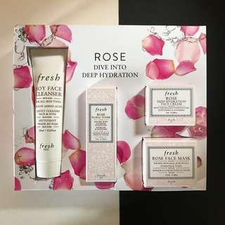 Fresh Rose Travel Kit (Empties)