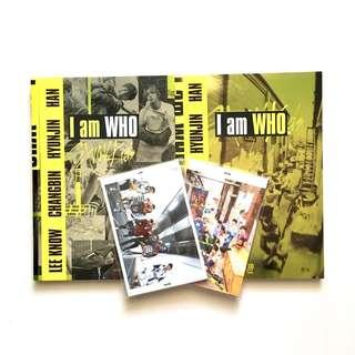 [INCL PO BENEFIT] wts stray kids i am who unsealed album
