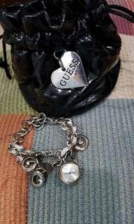Guess watch with charms