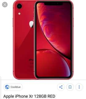 🚚 Want to Buy - Iphone XR Red 128 GB