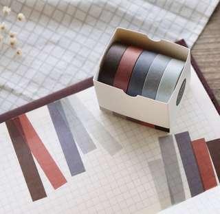 🚚 (5 rolls) Washi Tape (PO)
