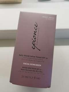 Epionce Daily Shield Lotion Tinted SPF 50 防曬潤色隔離霜