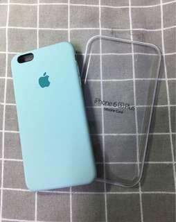 [iPhone 6s+] 矽膠保護殼💚