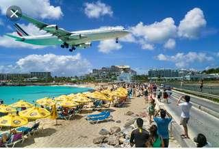 airfare tickets or vacation packages