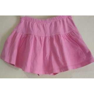 Rok celana pendek pink Mothercare 3-4Y #ibuhebat
