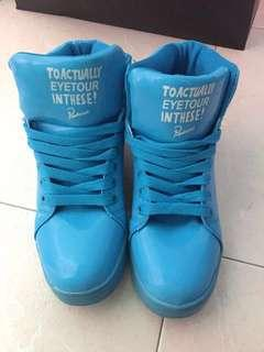 New Blue sneakers / dancing shoes