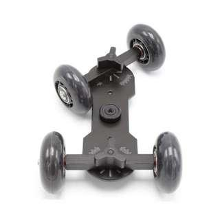 🚚 Video Dolly Stabilizer (For Camera, Camcorder, Monitor, Smartphone)