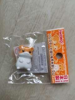 🚚 Hamster and hedgehog eraser
