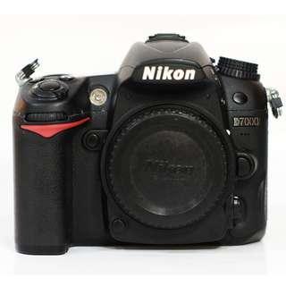 Nikon D7000 BO Fullset Code 3371