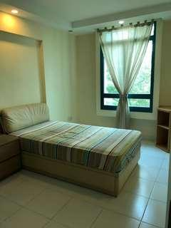 Nicely furnished room rental at Punggol - no agent fee