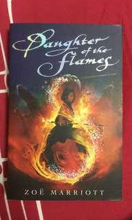 🚚 DAUGHTER OF THE FLAMES - A NOVEL BY ZOË MARRIOTT