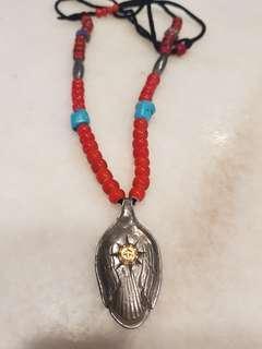 🚚 rare goros spoon necklace