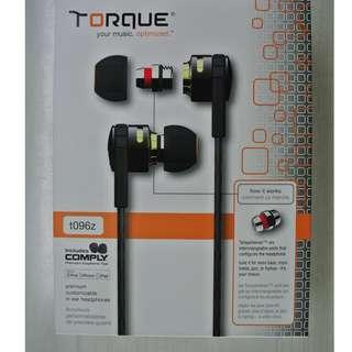 Torque t096z Customizable In-Ear Headphones