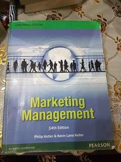 Marketing Management by Philip Kotler & Kevin Keller