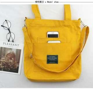 🚚 Anello Inspired Canvas Shoulder / Tote Bag (PO)
