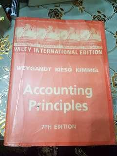 Accounting Principles by Weygandt Kieso Kimmel