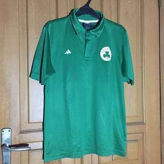 Polo shirt Adidas Celtics
