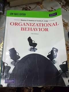 Organizational Behavior by Stephen Robbins & Timothy Judge