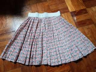 Pink cat skirt