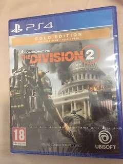 The division 2( gold edition)