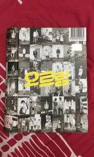 EXO GROWL ALBUM - KOREAN VERSION