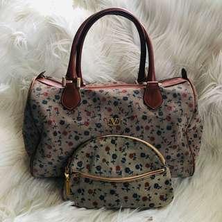 Vintage Valentino Garavani Bag with Pouch