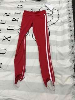 Factorie Red Leggings