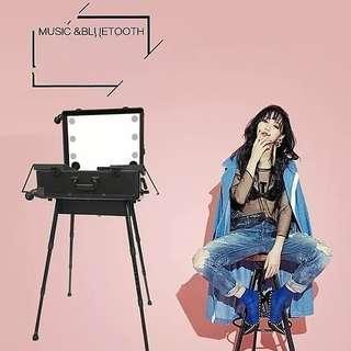 Bag makeup trolley mp3