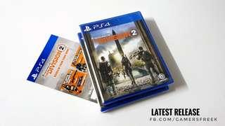 PS4 TOM CLANCY'S THE DIVISION 2   LATEST RELEASE !!! HOT