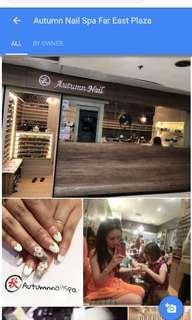 Eyelash extension by artumn nails far east plazs