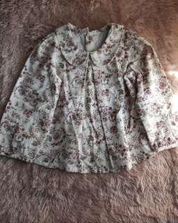 Floral Long Sleeves for Kids