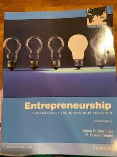Entrepreneurship- Successfully Launching New Ventures