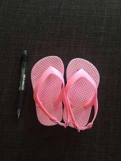Girl toddler slippers